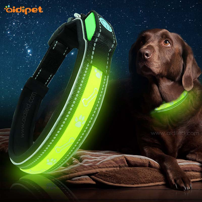 AIDI-C22 High Light Glowing Led Dog Collar