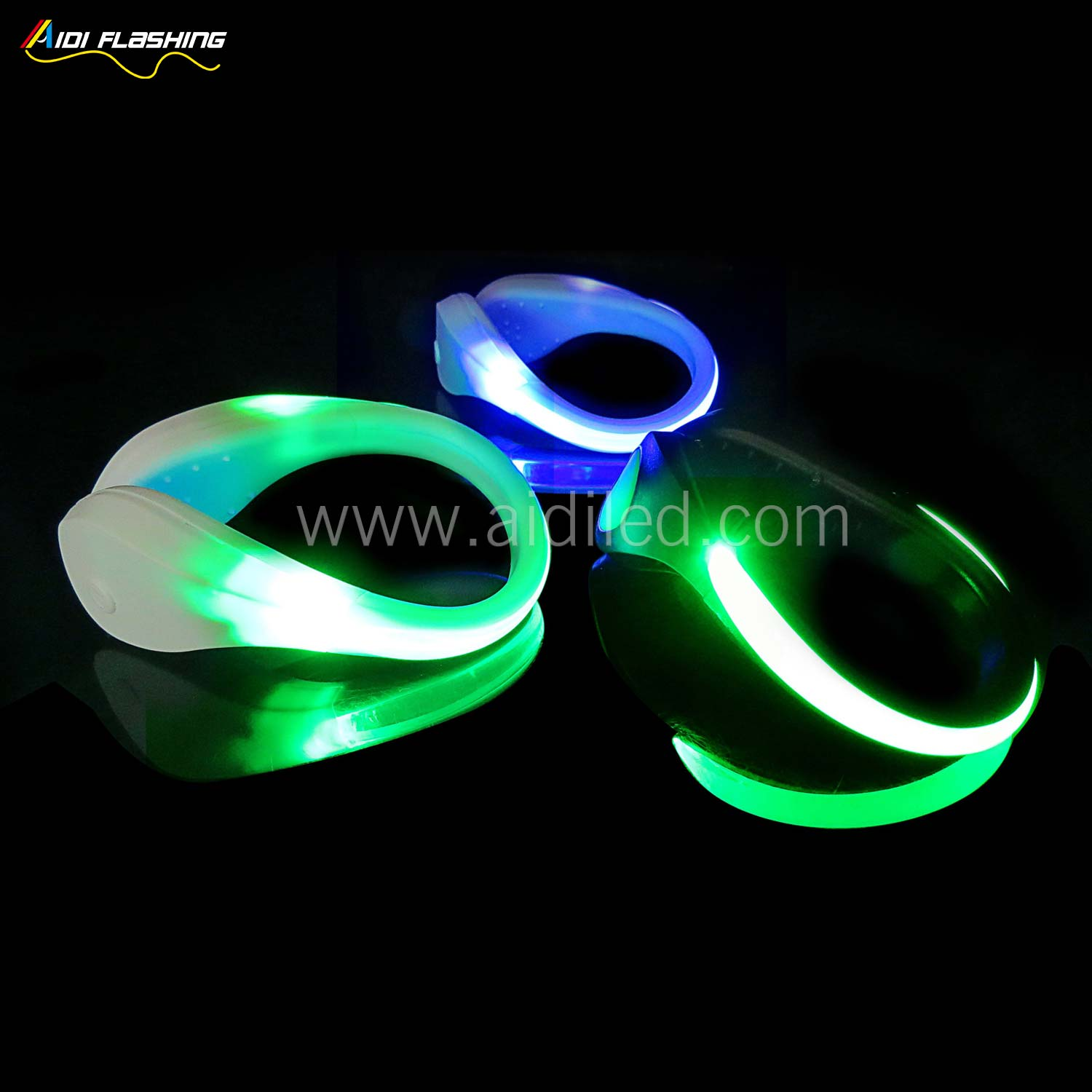 Led light up shoe clips (for children) AIDI-S2