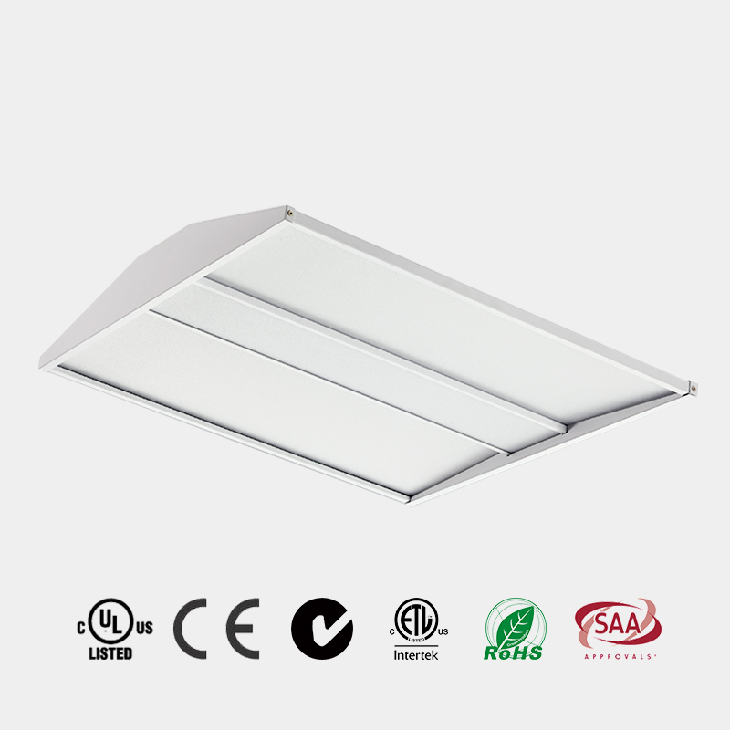 LED Troffer high architectural design 2x2 2x4 UGR<19 DLC 125 LM/W CE ETL LED Recessed LED Panel Chin