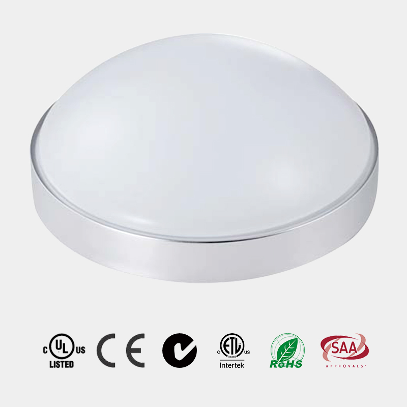 Milky Acrylic Lens Aluminum Housing LED Ceiling Light ETL DOB Design HG-L252