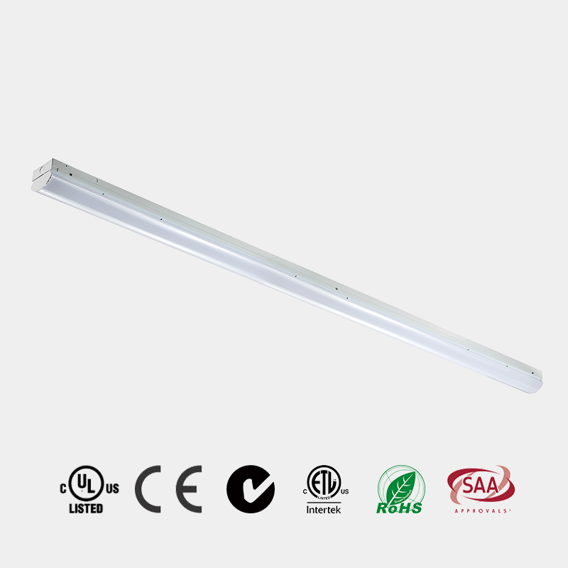 Corridor School using LED fitting very popular selling 4ft 8ft 130 LM/W ETL DLC PC Milky diffuser LE