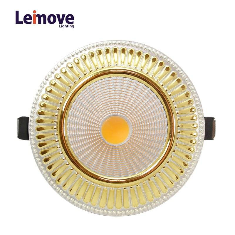 Leimove Led 5W 10W 15W Ultra Bright Recessed Ceiling Spot Lights with 120mm cut out  LM8018 matte go