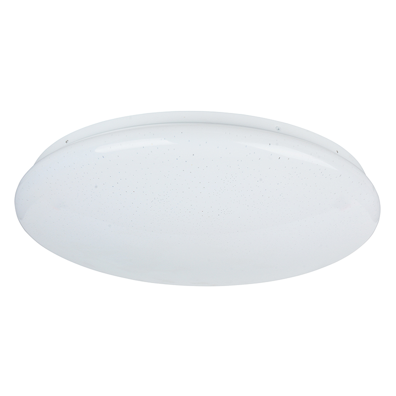 Dimmable LED Ceiling Lamp with Remote Control, Star Spot lamp cover 3000K/4000K 17W and 28W  in Whit
