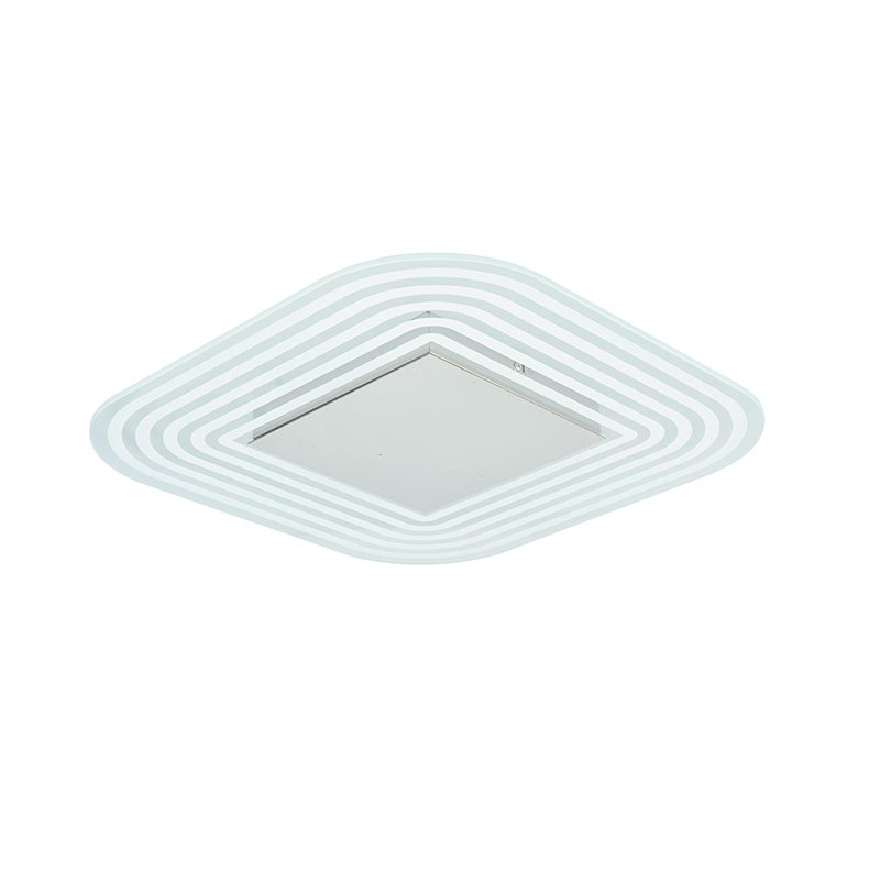 Design Glass Ceiling LED 18W 3000K ,also Dimmable Function