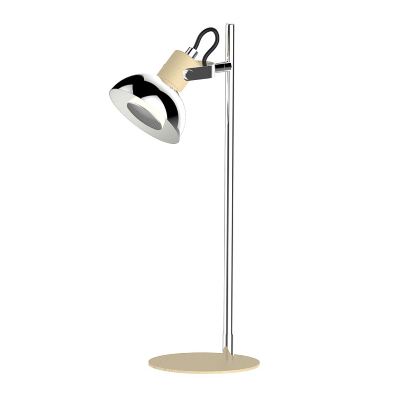 LED Desk Table Lamp for reading and lerning with GU10 Bulb 3W and Adjustable head