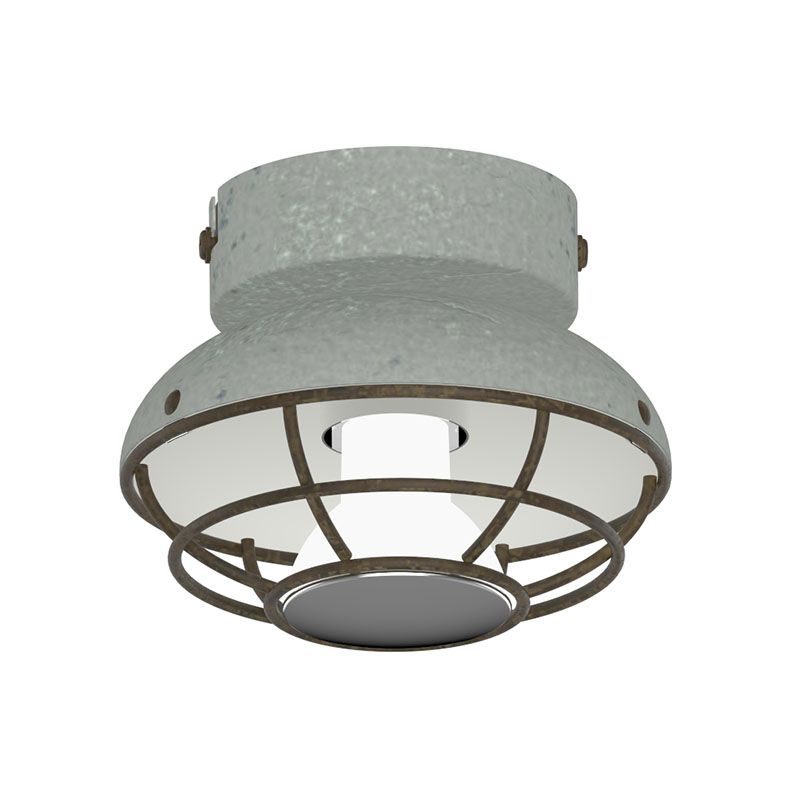 Decorative Ceiling /wall lamp with GU10 3W 3000K in Cement and Rusty
