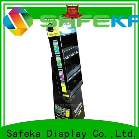 SAFEKA eye-catching retail product stands at discount for wholesale