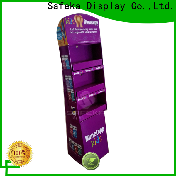 SAFEKA highly-rated retail display stands bulk production free delivery