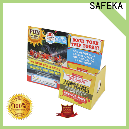 SAFEKA low-cost cardboard display stands promotional at discount