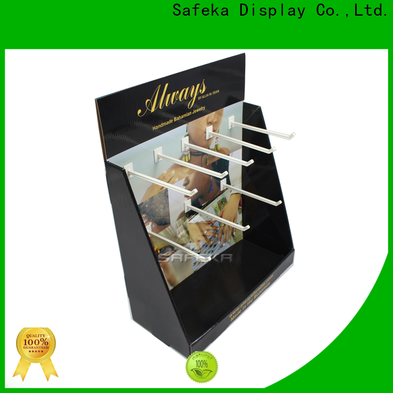 SAFEKA craft table top display free sample for sale
