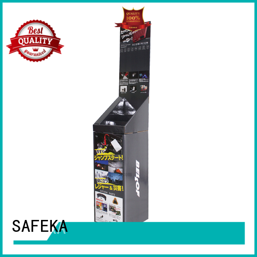 bin dump printed SAFEKA Brand retail display bins manufacture