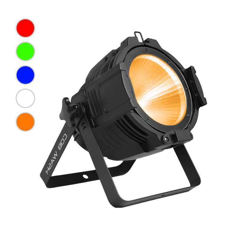 COB PAR Light_C PAR 1005 100W RGBWA 5in1 COB LED PAR CAN Wash Lighting