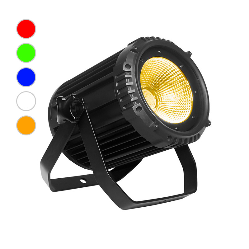 COB PAR Light_C PAR 1005S 100W RGBWA 5in1 COB LED silence par Lights