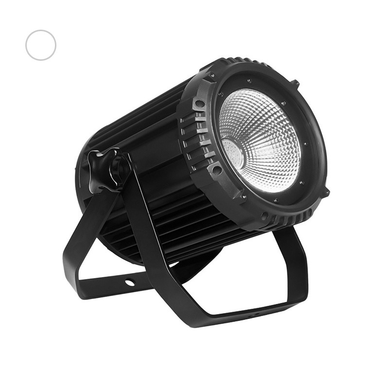 COB PAR Light_C PAR 100CS 100W white COB LED silence par lights for church wedding conference TV(270