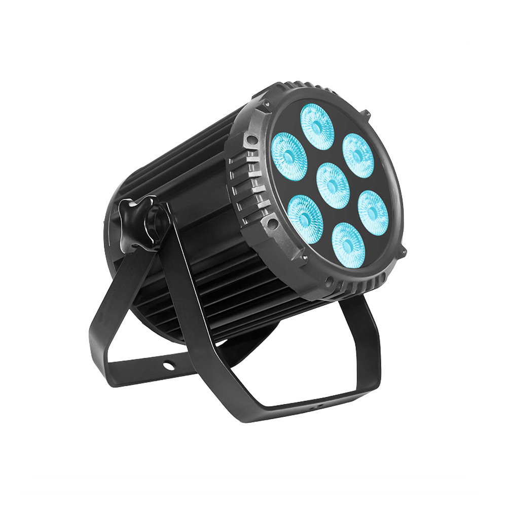 PAR Light_P WASH 715 7pcs 15W RGBW 4-in-1 LED par light silence