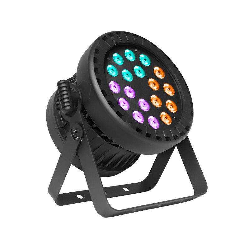 PAR Light_P WASH 1886 IP 18pcs 8W RGBWA+UV 6-in-1 LED outdoor waterproof IP65 light