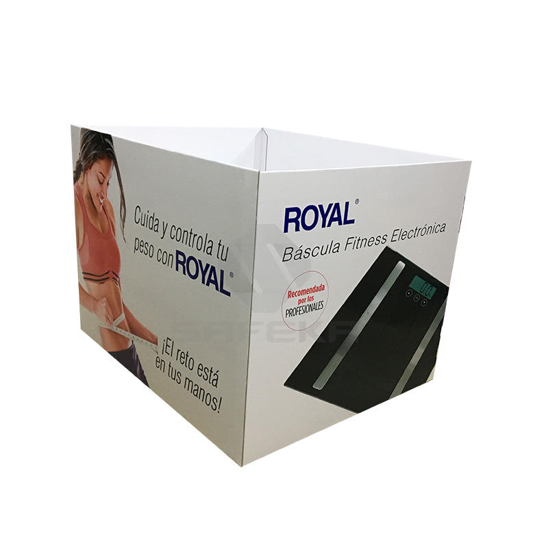 Supermarket Corrugated Folded  Standard Cardboard Full Pallet Display for Retail