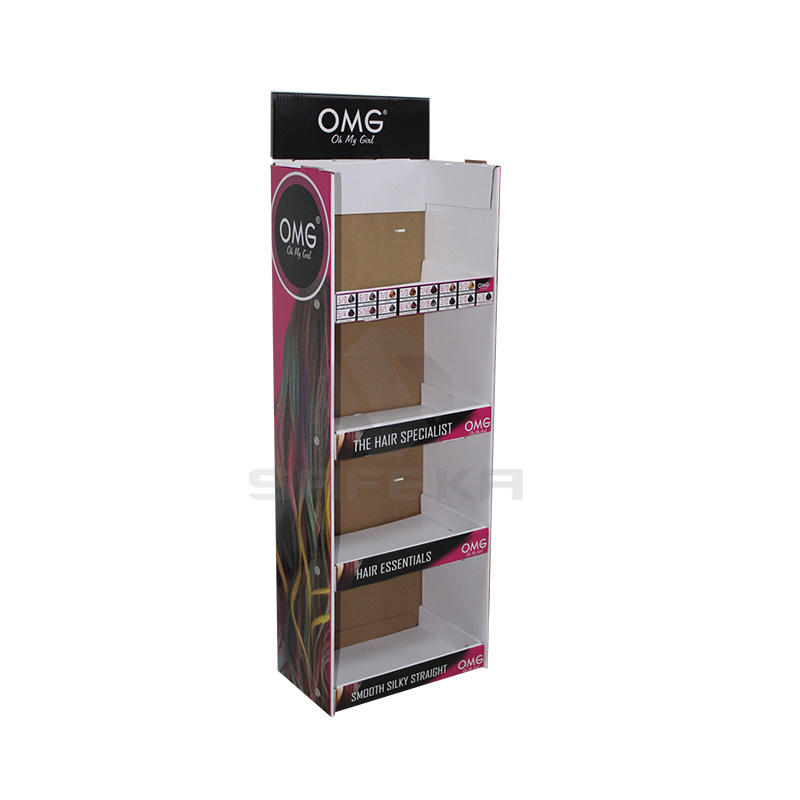 Pos hanging display stand for hair coloring