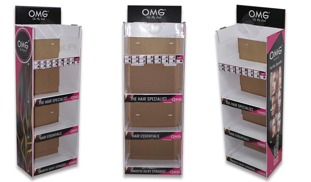 SAFEKA -Pos Hanging Display Stand Cardboard Hanging Retail Display
