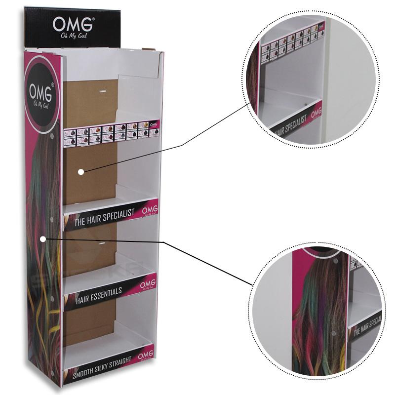 SAFEKA -Pos Hanging Display Stand Cardboard Hanging Retail Display-1
