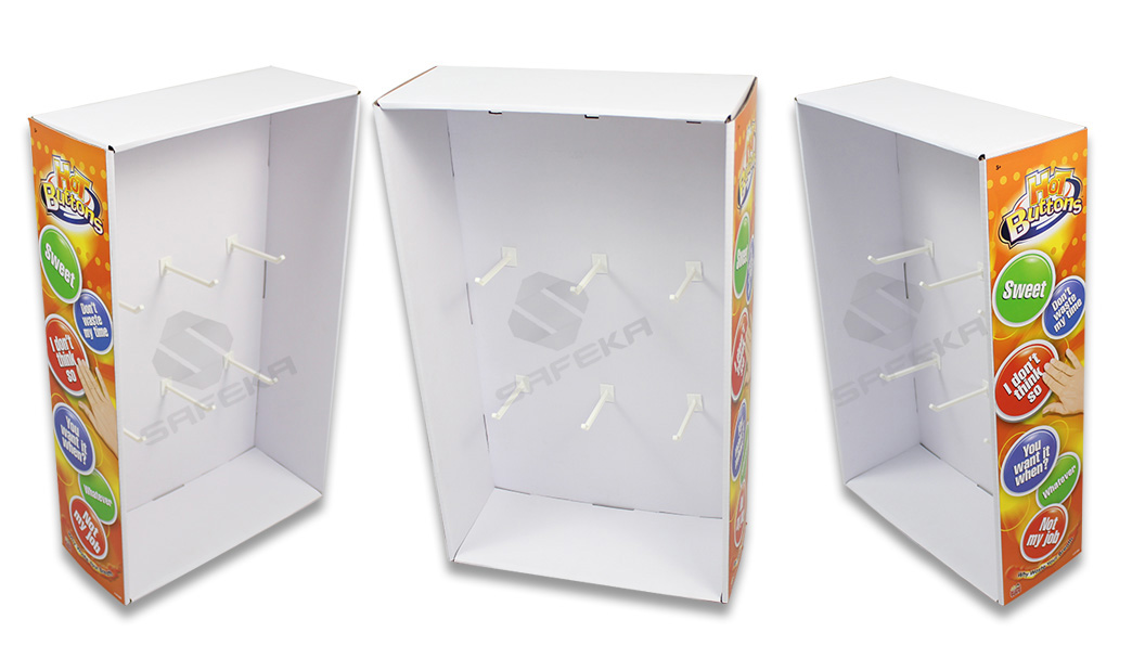 SAFEKA -Cardboard Wings Display Cardboard Dvd Display Stand From SAFEKA
