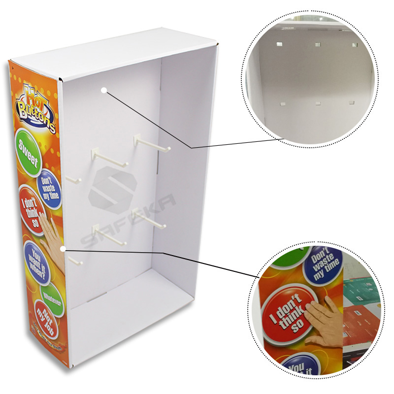 SAFEKA -Cardboard Wings Display Cardboard Dvd Display Stand From SAFEKA-1
