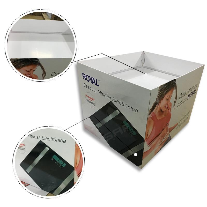 SAFEKA -Supermarket Corrugated Folded Standard Cardboard Pallet Displays-2