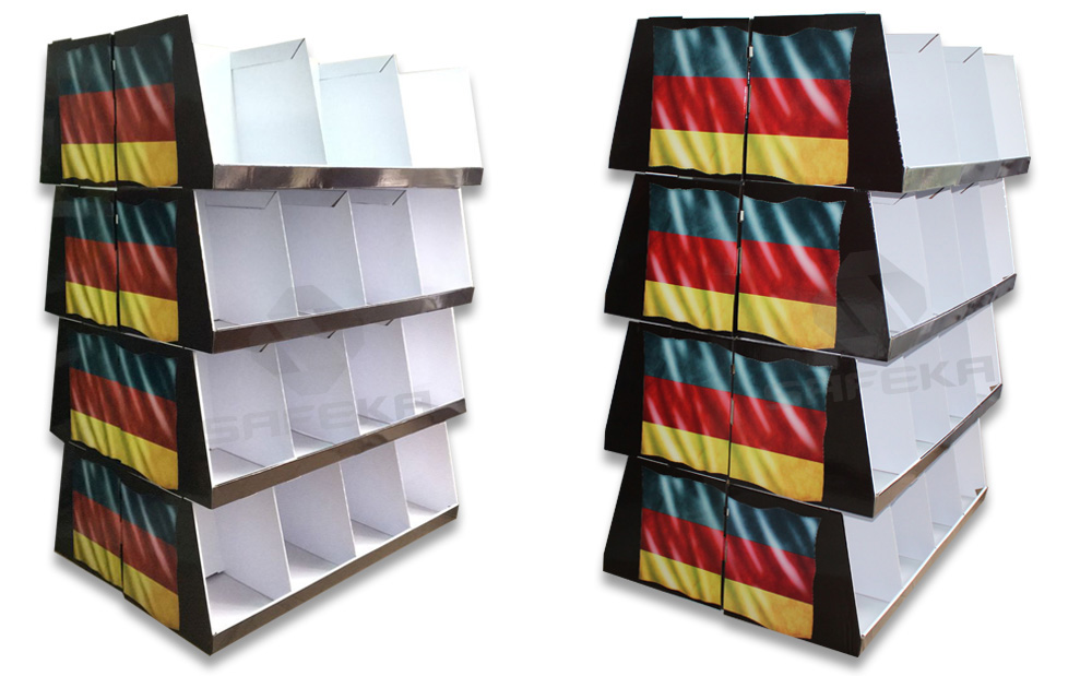 SAFEKA -Germany Globus Pdq Pallet Display For World Cup 2018