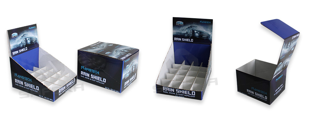 SAFEKA -Best Cardboard Counter Top Display Box Retail Counter Displays