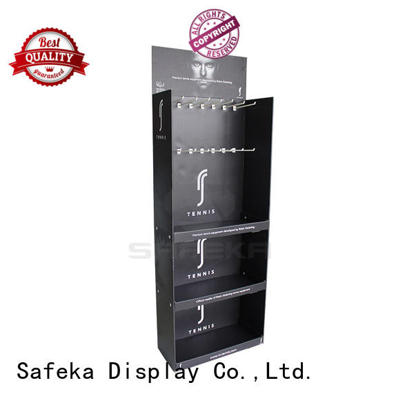 units or cardboard promotional floor display SAFEKA