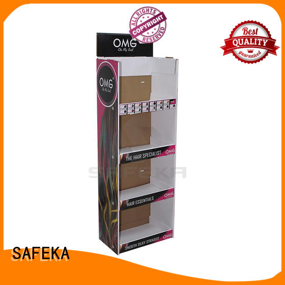 SAFEKA size Power wing Displays goods-promoting for customization