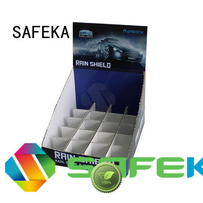 Cardboard Counter Top Display Box for car accessory