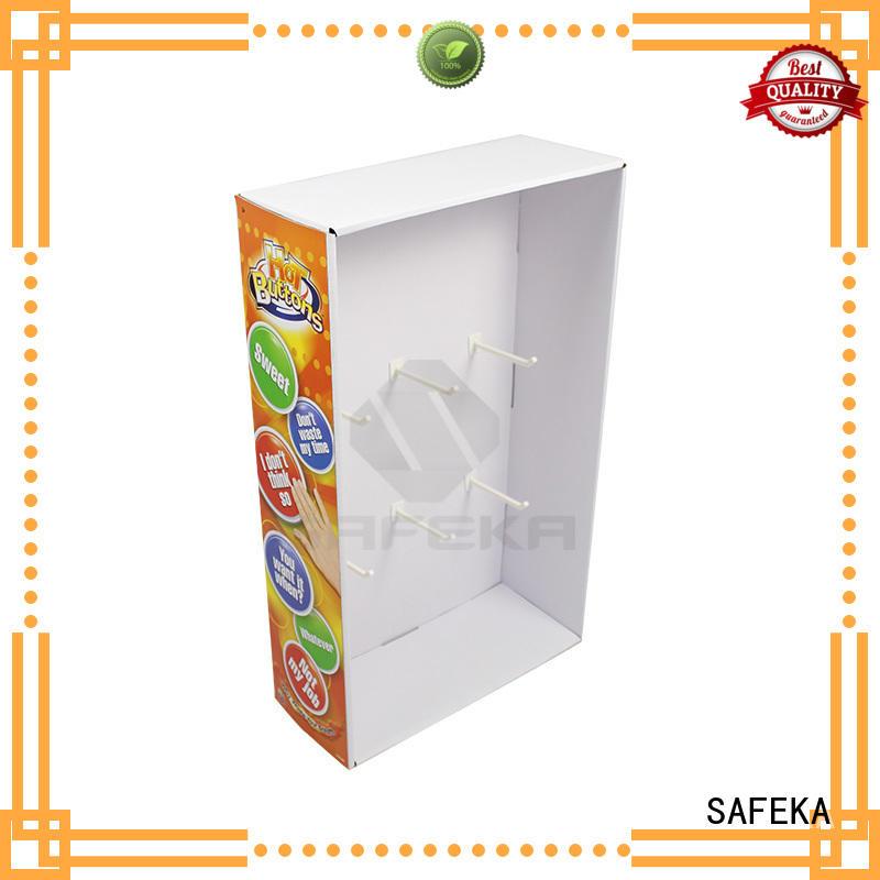 SAFEKA bulk production hanging display goods-promoting for bulk order