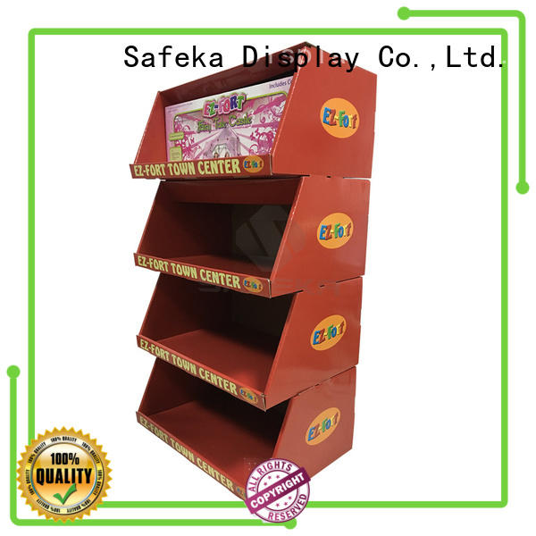 cardboard pallet displays floor toys funko SAFEKA Brand pallet display