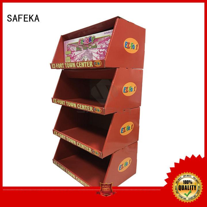 SAFEKA cardboard display boxes free delivery for bulk order
