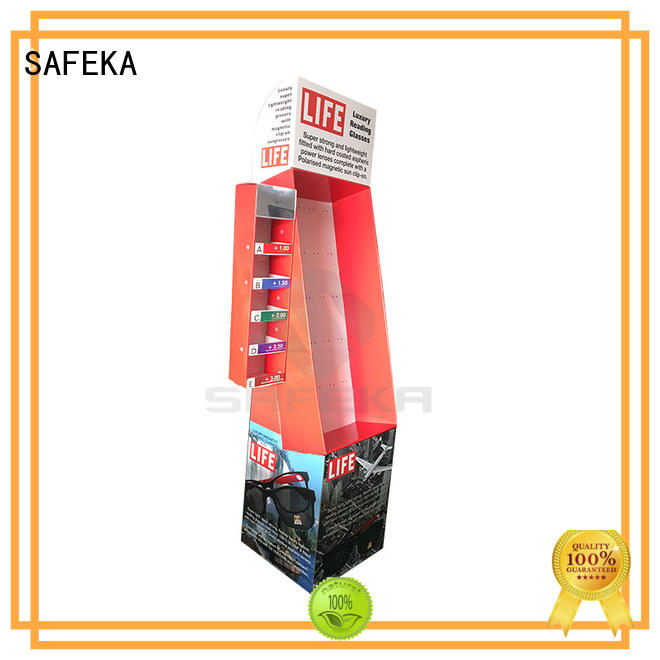 SAFEKA large capacity hanging display low-cost for supermarket