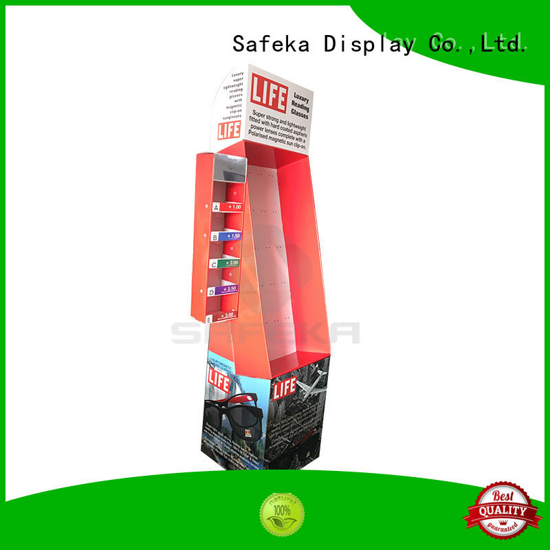 SAFEKA Brand optical shirt retail display toys factory