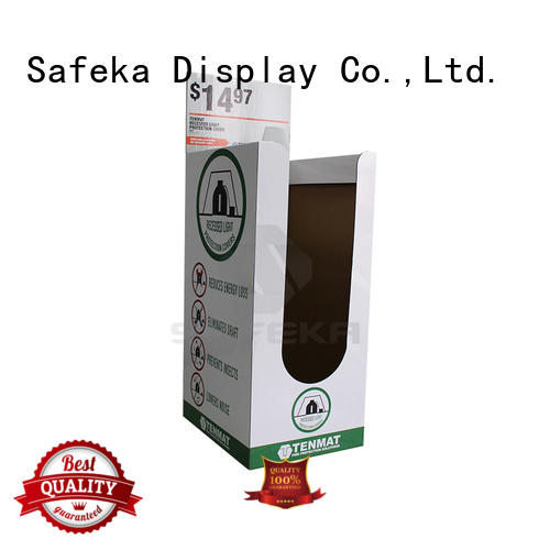 Wholesale display retail display bins SAFEKA Brand
