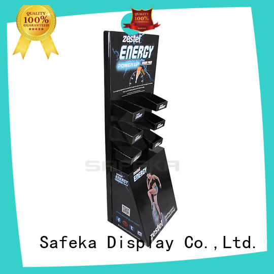 SAFEKA paperboard retail display racks large capacity free delivery