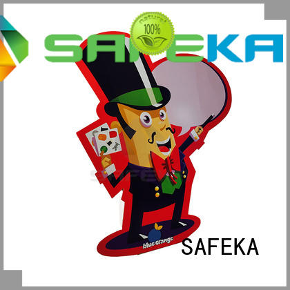 custom cardboard cutout standees at sale SAFEKA