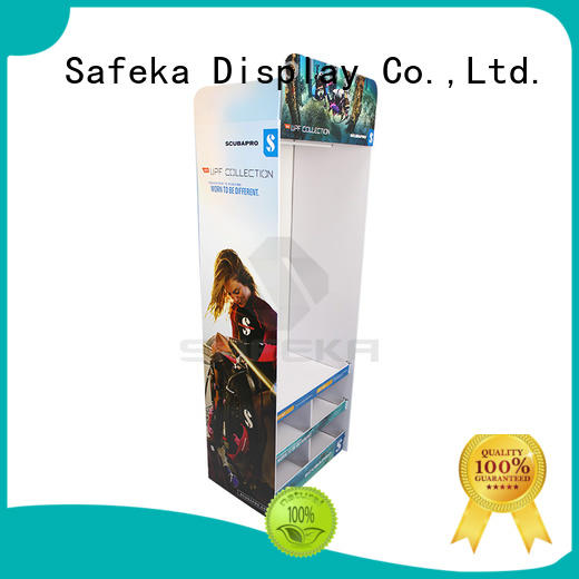 SAFEKA high-caliber retail shipper display bulk production for sale