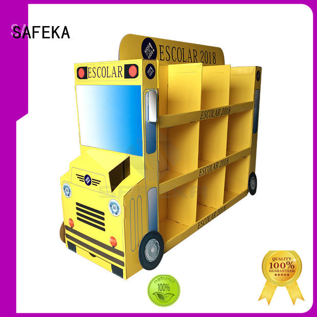 cardboard easy OEM pallet display SAFEKA