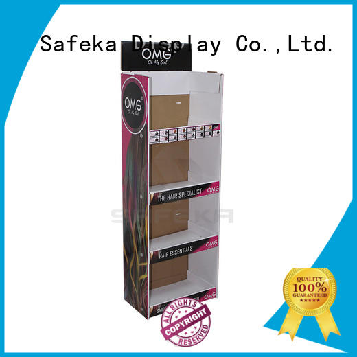 bulk order retail display shelves goods-promoting for market