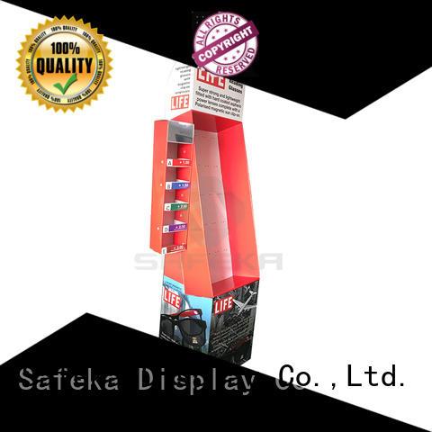 Power wing Displays multi-functional for market SAFEKA