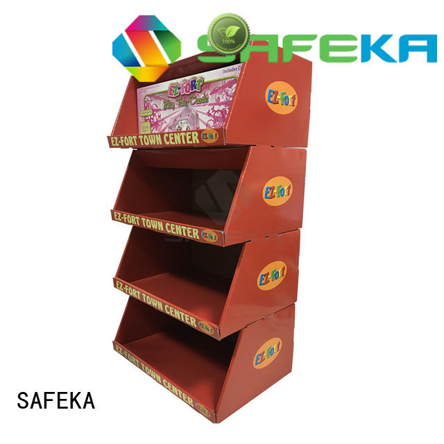 SAFEKA top seller cardboard display boxes free sample at discount