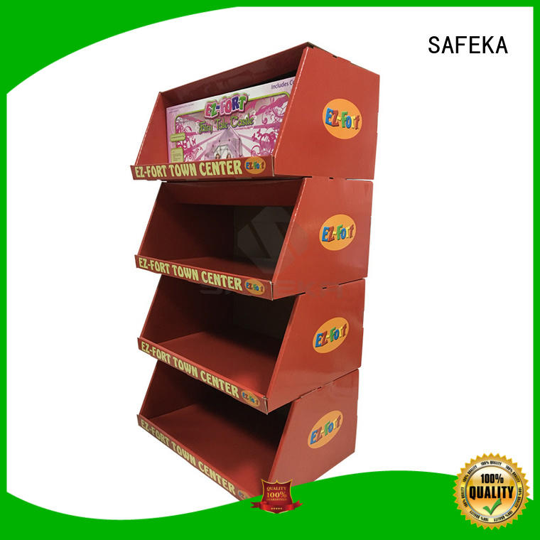 top manufacturer cardboard display stand easy free delivery at sale