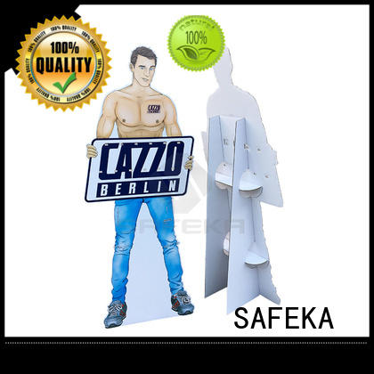 personalized cardboard cutouts display stand cardboard cutout standees SAFEKA Brand