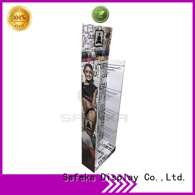 display retail cardboard hanging retail display peg coloring SAFEKA Brand