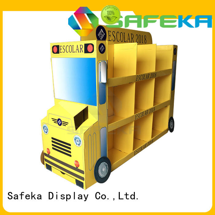 folded cardboard pallet displays retail pallet SAFEKA Brand