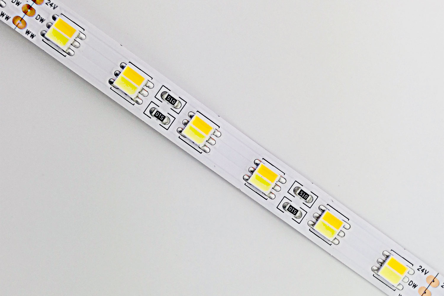 CCT Adjustable 5050 LED Strip Light DR-5050FX60-24CCT